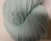 Mint Green Cashmere Reclaimed Yarn- 170 Yards