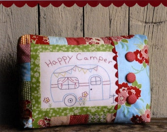 Happy Camper Embroidery Pillow Pattern By This & That