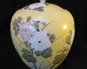 Lovely Antique Lidded Jar
