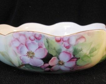 Antique Handpainted Haviland Bowl