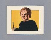 PET SEMATARY CARD - Stephen King - Horror Film Card - Pet Sematary - Mature - Evil Child - Funny Card For Him - Horror Film - Original Art