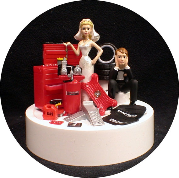 mechanic wedding cake toppers car auto mechanic wedding cake topper key amp groom tool 17250