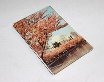 25 Vintage United States Postcards Blank - Mix of Chrome and Linen - Travel Themed Wedding Guestbook