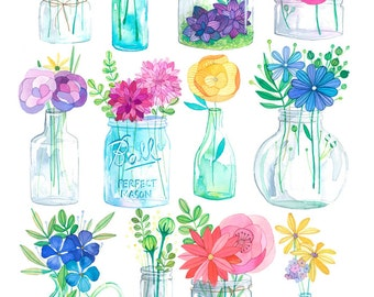 Jars of Joy 8x11 print
