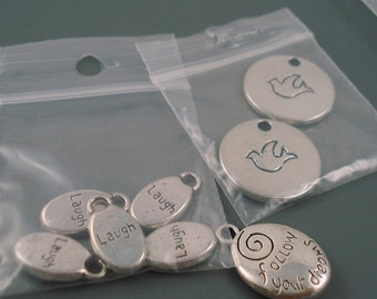 Destash Mix of Silver Charms