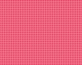 Pink Houndstooth - Roundup -  Riley Blake Fabric-  100% Cotton - HALF YARD