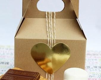 50 Mini Gable Gift Boxes, Mini Gable Favor Boxes, Wedding Favor Gift Boxes, Party Favor Boxes, Gift Boxes