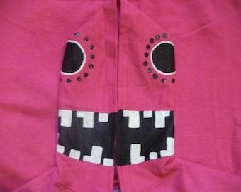 Vocaloid Matryoshka Hoodie Medium Pink Cosplay Costume