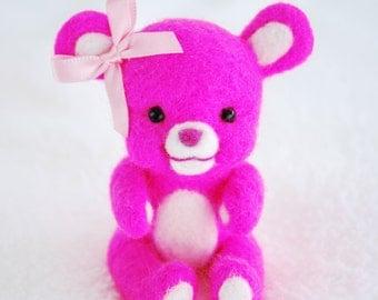 Needlefelted Baby Bear Diana