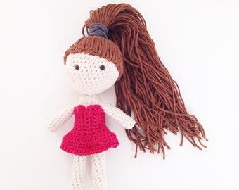 Crochet Ballerina Doll PDF Pattern - Instant download