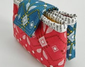 Anna double zipper pouch {PDF sewing pattern} - instant download