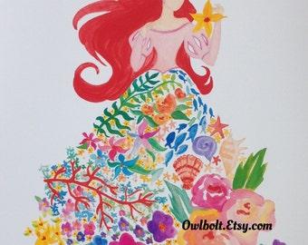 Ariel Flower Dreams