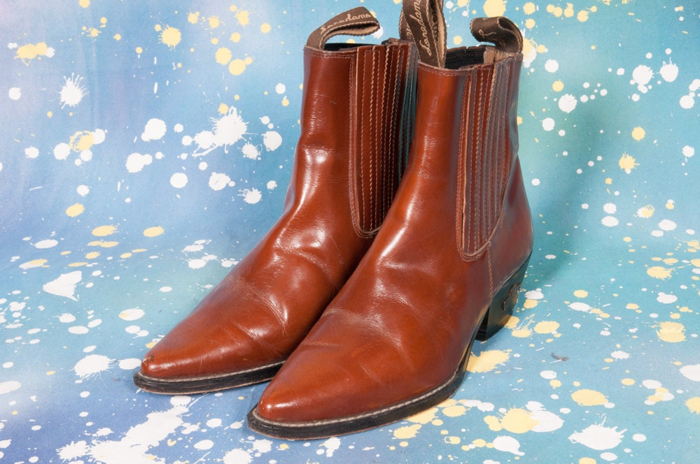 Lastest Santoni 39beatle39 Ankle Boots In Brown  Lyst