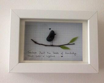 Pebble Art - Thank you gift for teacher