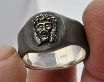 The Jesus Ring in solid Sterling Silver