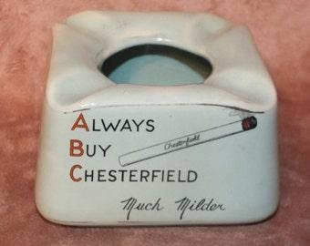 Chesterfield Cigarette Pub Ashtray - James Green & Nephew Ltd