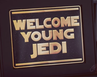 """Assorted Star Wars 8 x 10"""" Signs - INSTANT DOWNLOAD - Printable Birthday Party Decorations"""