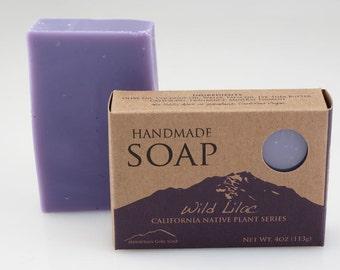 Wild Lilac - Handmade Vegan Soap - California Native Plant