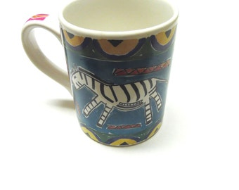 Lion Zebra Coffee Cup Mug