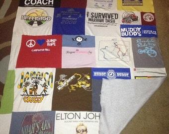Custom T-shirt Blanket/Quilt