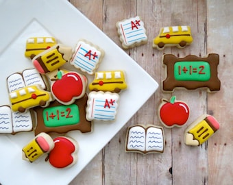 Teacher Appreciation Back to School Cookies - 24 - 2 Dozen