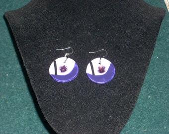 Amethyst Steven Universe Earrings