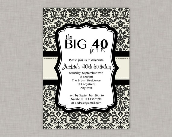 printable th birthday invitations  march  calendar, Birthday invitations