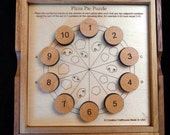Pizza Pie Puzzle – math and logic brain teaser