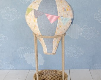 Hot Air Balloon Photography Prop for Babies and Toddlers (in Newfangled Triangle)