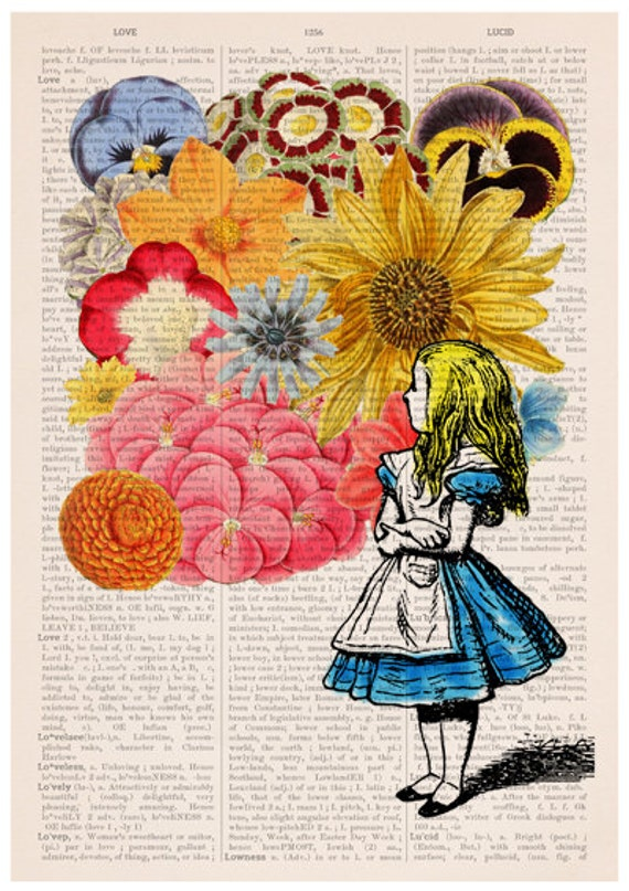 Alice In Wonderland Poster A3 Poster Alice Art Wall Art Home Decor