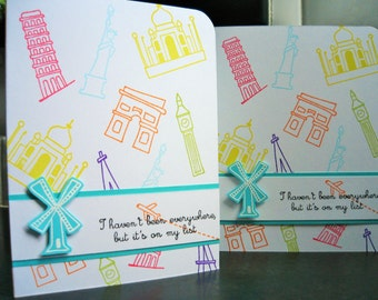 Happy Retirement Card, Gift for Traveler, Retirement Gift