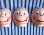 Monkey doll mask lot