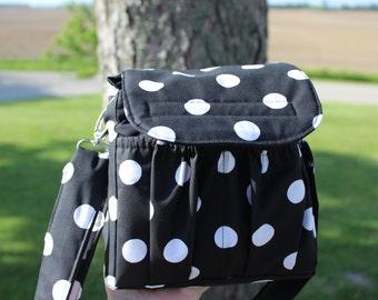 Camera Bag, Padded compact camera bag, travel camera bag, T3i case,T4i, Canon Rebel camera case