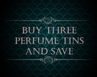 Buy Three Solid Perfumes and Save - Solid Perfume Creme Tins