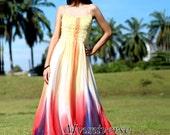 Floral Maxi Dress - Fancy Dress Prom Dresses Plus Size Sundress Beach Party Dress