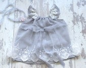 Baby Prop Dress. Newborn Esther Angel Dress. Baby Dress. Baby Chiffon Dress. Lace Dress. Photography Prop.UK Seller.