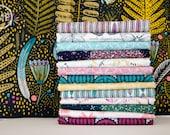 Biology Half Yard Bundle, Full Collection, 14 Pieces, Sarah Watson, 100% GOTS-Certified Organic Cotton, Cloud9 Fabrics
