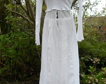 Split Dress with Trousers