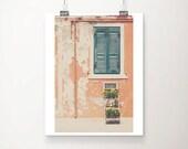 Venice photograph Burano photograph teal shutter photograph marigold photograph peach home decor Venice print wanderlust art