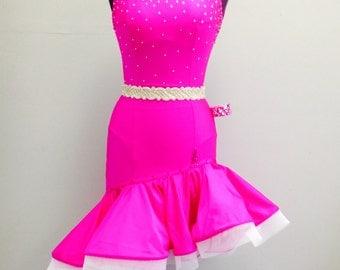 Pink Latin Dance Dress    Latin Dance Dresses