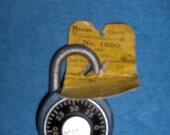 "Master Combination Lock ""Champ"" No.1500 Old School 1960's"