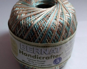 Crochet Thread, Bernat Crochet Thread Size #5 33203 Seashore