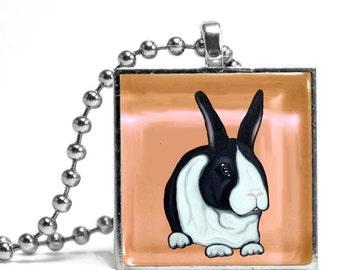 Katie the Bunny Necklace - Original Design