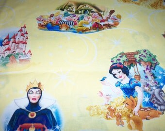 Snow White Fabric By The Fat Quarter New BTFQ