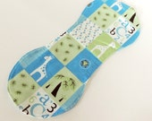Flannel Burp Cloth - Baby Boy Gift - Boy Burp Cloths - Blue Burp Cloths - Baby Boy Shower Gift
