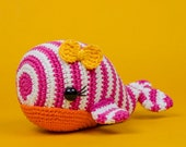 Willa the Whale Amigurumi - PDF Crochet Pattern - Instant Download - Amigurumi crochet Cuddy Stuff Plush