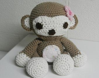 Crocheted/Stuffed/Monkey