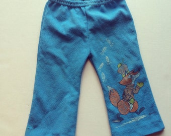 1970's Polyester Fox Pants (12 months)
