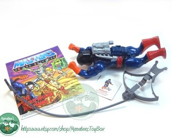 MOTU Action Figure: Dragstor Complete 1980s Toy