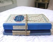 Antique book bundle - french antique book   - Shabby chic - french History School Textbook French School book